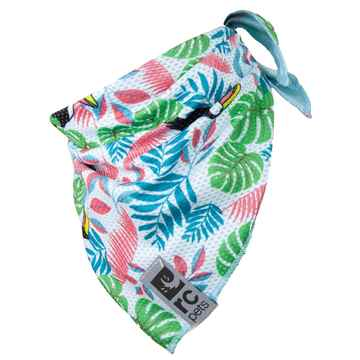 Picture of CANINE ZEPHYR COOLING BANDANA Toucan - Medium