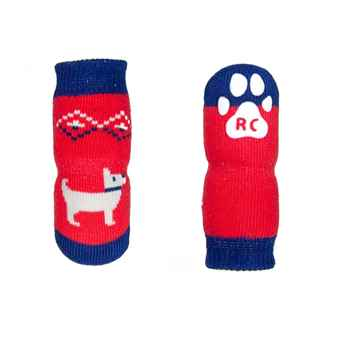 Picture of PAWks K/9  ANTI SLIP SOCKS Pawesome Small - 4/pk