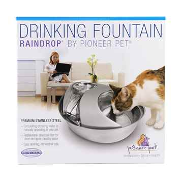 Picture of PIONEER PET Stainless Steel  DRINKING FOUNTAIN - 60oz