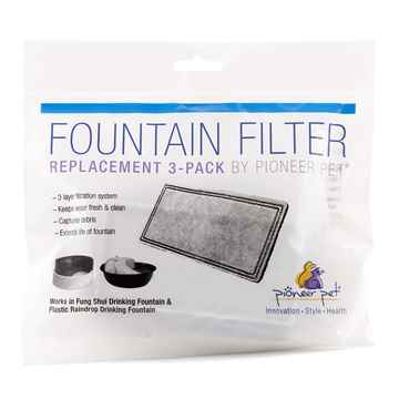 Picture of PIONEER PET Plastic DRINKING FOUNTAIN Repl Filters - 3/pk