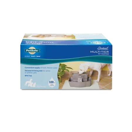 Picture of DRINKWELL MULTI TIER PET FOUNTAIN Plastic - 100oz