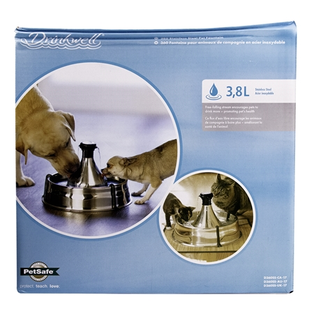 Picture of DRINKWELL 360 PET FOUNTAIN Stainless Steel - 128oz