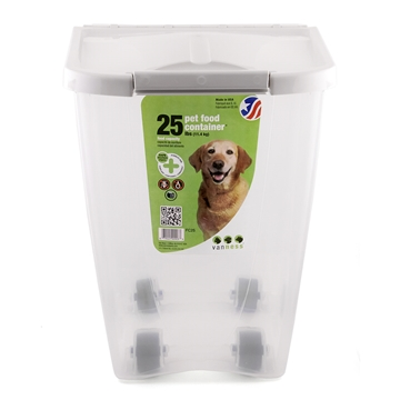 Picture of VANNESS PET FOOD CONTAINER  holds upto 25lbs