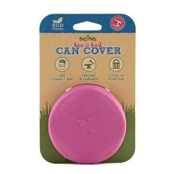 Picture of PET CAN COVERS BECO Silicone Rubber Pink - 7.5cm diameter