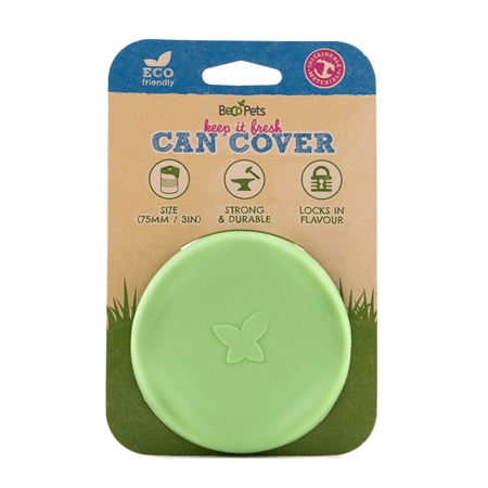 Picture of PET CAN COVERS BECO Silicone Rubber Green - 7.5cm diameter
