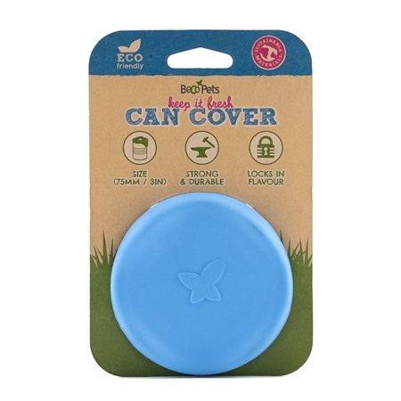 Picture of PET CAN COVERS BECO Silicone Rubber Blue - 7.5cm diameter