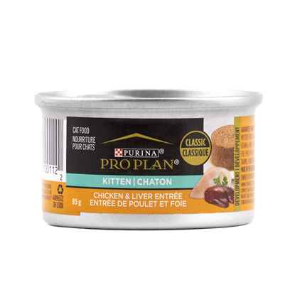 Picture of FELINE PRO PLAN KITTEN Chicken & Liver Entree - 24 x 3oz cans