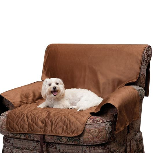 Picture of SOLVIT CHAIR PROTECTOR Full Coverage - Cocoa