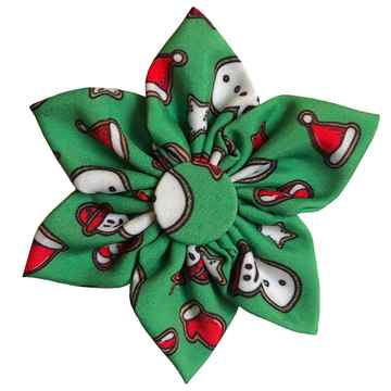 Picture of XMAS CANINE PINWHEEL NECK WEAR Christmas Cookie  - Small(nr)