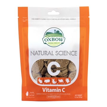 Picture of OXBOW NATURAL SCIENCE VITAMIN C SUPPLEMENT - 120gm