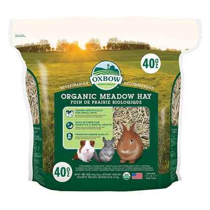 Picture of OXBOW BENE TERRA ORGANIC MEADOW HAY - 40oz