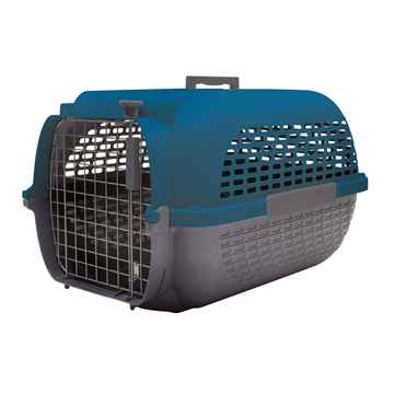 Picture of PET CARRIER DOGIT VOYAGEUR Small Blue/Gray  - 19in L x 12.8 W x 11in H