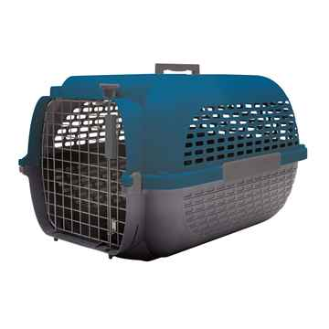 Picture of PET CARRIER DOGIT VOYAGEUR Medium Blue/Gray  - 22in L x 14.8 W x 12in H