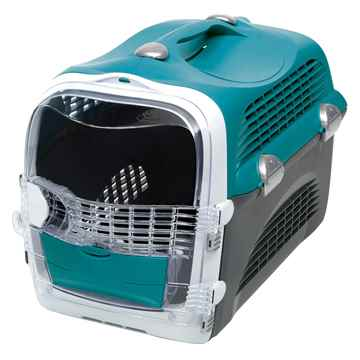 Picture of PET CARRIER CATIT CABRIO 20inL x 13inW x 13.75in - Turquoise