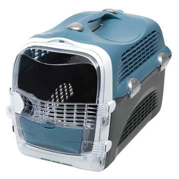 Picture of PET CARRIER CATIT CABRIO 20inL x 13inW x 13.75in - Blue/Gray