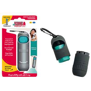 Picture of PET WASTE KONG HANDIPOD MINI DISPENSER with a Flashlight