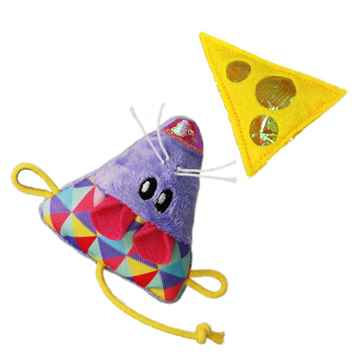Picture of TOY CAT KONG Cracklezs Mouse & Cheez - 2/pk