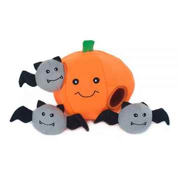 Picture of HALLOWEEN BURROW PUMPKIN with BATS (ZP661)(nr)