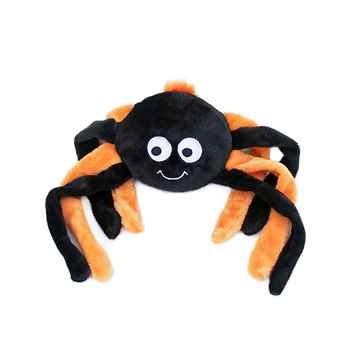 Picture of HALLOWEEN GRUNTERZ ORANGE/BLACK SPIDER (ZP662)(nr)