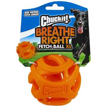 Picture of TOY DOG CHUCKIT Breath Right Fetch Ball XLarge - 1/pk