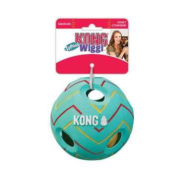 Picture of TOY DOG KONG Wiggi Tumble Ball - Small/Medium