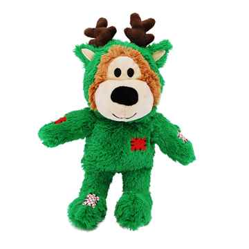 Picture of XMAS HOLIDAY KONG WILD KNOT BEAR - Med/Lrg(nr)