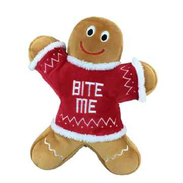 Picture of XMAS HOLIDAY HUXLEY Bite Me Gingerbread Man - Large (nr)