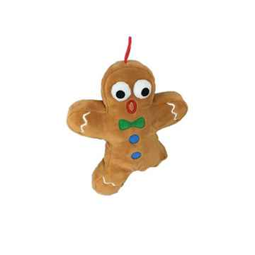 Picture of XMAS HOLIDAY HUXLEY PLUSH Snapped Gingerbread Man - 8in