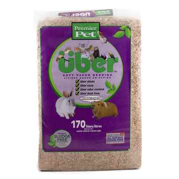 Picture of PREMIER PET UBER CONFETTI SOFT PAPER BEDDING Natural - 170L expanded
