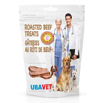 Picture of UBAVET ROASTED BEEF TREATS - 100g