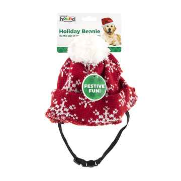 Picture of XMAS HOLIDAY OUTWARD HOLIDAY BEANIE Red - Med/ Large (nr)