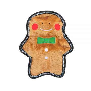 Picture of XMAS HOLIDAY ZIPPYPAWS Z STITCH No Stuffing - Gingerbread Man(nr)