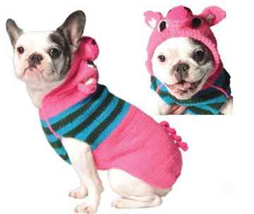 Picture of SWEATER CANINE Chilly Dog Piggy Hoodie (XS-XXXL)