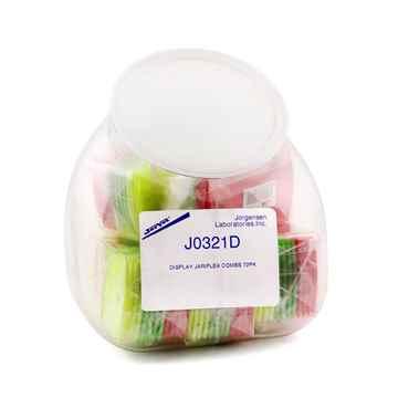 Picture of FLEA COMB ASSORTED COLOR w/ jar (J0321D) - 72/jar