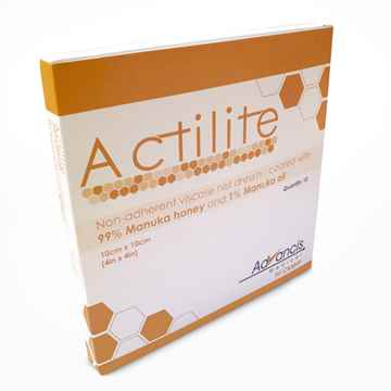 Picture of ACTILITE DRESSING w/MANUKA HONEY 10cm x 10cm - 10's