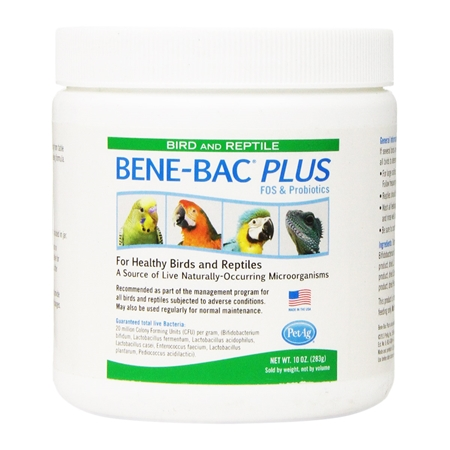 Picture of BENE- BAC AVIAN & REPTILE POWDER - 10oz