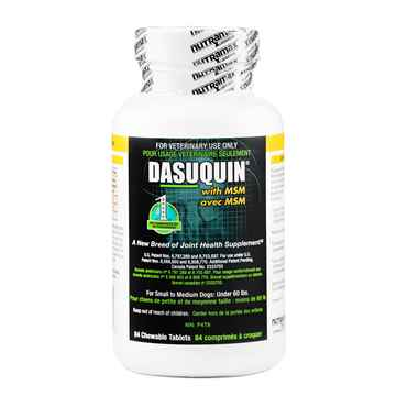 Picture of DASUQUIN CHEW TABS w/MSM for SMALL/MED DOGS - 84s