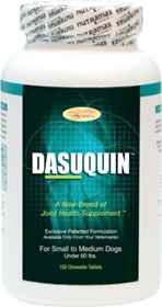 Picture of DASUQUIN CHEW TABS w/MSM for SMALL/MED DOGS - 150s
