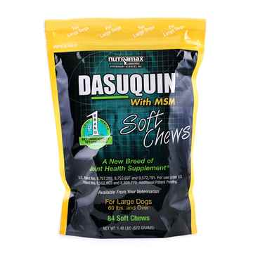 Picture of DASUQUIN SOFT CHEWS w/MSM for LARGE DOGS - 84s