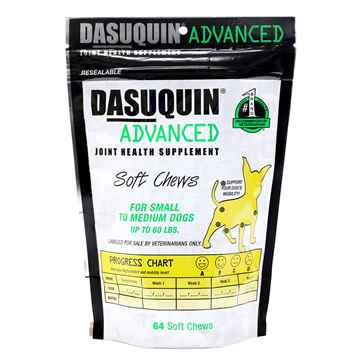 Picture of DASUQUIN ADVANCED SOFT CHEWS for SMALL/MED DOGS - 64s