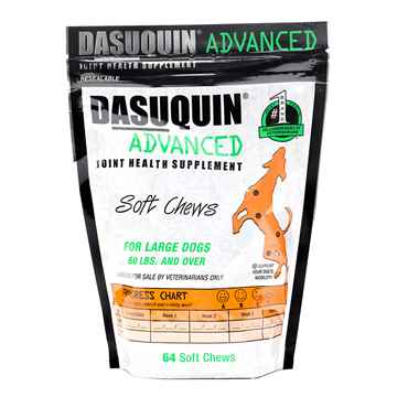 Picture of DASUQUIN ADVANCED SOFT CHEWS for LARGE DOGS - 64s