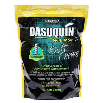 Picture of DASUQUIN SOFT CHEWS w/ MSM for LARGE DOGS - 150s