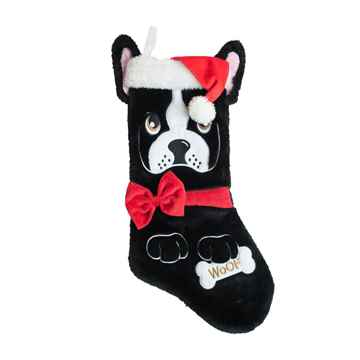 Picture of XMAS HOLIDAY OUTWARD HOUND French Bulldog Stocking - 19in (nr)