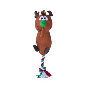 Picture of XMAS TOY CANINE OUTWARD HOUND Flingerz Reindeer (nr)