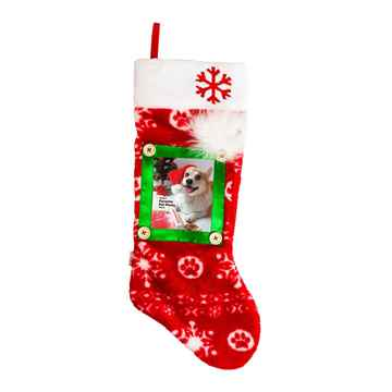 Picture of XMAS HOLIDAY OUTWARD HOUND Picture Stocking - 22in (nr)