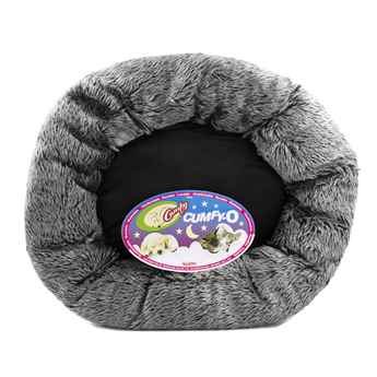 Picture of PET BED FELINE CUMFY O's Charcoal - 17in