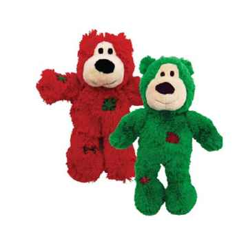 Picture of XMAS HOLIDAY KONG WILD KNOT BEAR - Sm/Medium(nr)