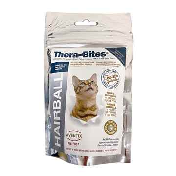 Picture of THERABITES HAIRBALL & STOOL CHEWS for CATS/DOGS - 20's(tu)