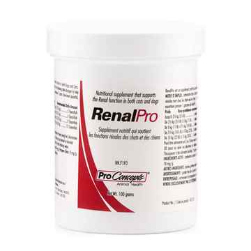 Picture of RENALPRO NUTRITIONAL SUPPLEMENT for CATS & DOGS - 100gm(tu)