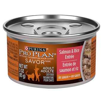 Picture of FELINE PRO PLAN ADULT SALMON & RICE- 24 x 85gm cans